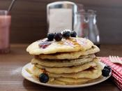 Pancakes moelleux myrtilles
