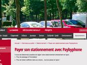 Neuilly VINCI Park lancent paiement stationnement PayByPhone