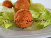 Croquettes Amandine Foie Gras.