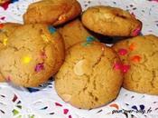 Cookies bonbons multicolores