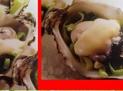 Huîtres gratinées poireau