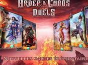 Order Chaos Duels iPhone, nouvelles cartes disponibles...