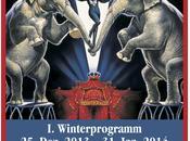 saison d'hiver Cirque Krone commence jour Noël!