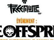 Festival Free Music 2014 Offspring samedi juin