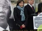 hommage parisien original pour Mandela