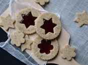 Biscuits sablés poudre noisette confiture Sans gluten lactose