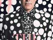 Mode George Clooney Yayoi Kusama pour magazine