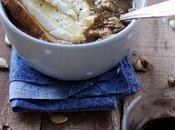 Soupe potiron, lentilles tartine Petit Pont-l'Évêque