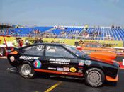 Drôle d'Alfa Romeo Drag race