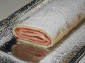 Gâteau roulé confiture