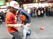Séan Garnier fait foot freestyle Londres