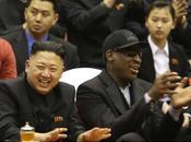 Dennis Rodman Corée Nord pour fêter l'anniversaire meilleur Jung