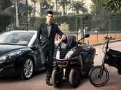 Djoko roule pour Peugeot