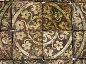 Carreaux pavement Moyen-âge Renaissance