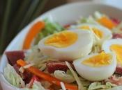 ~Salade jambon vinaigrette ranch~