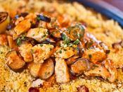 Poulet epicé marocaine