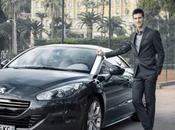 Novak Djokovic, nouvel ambassadeur Peugeot