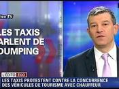 Grève taxis contre