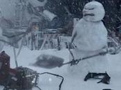 Nissan dégomme bonhommes neige Walking Dead