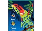 application pour Smartphone espèces Costa Rica