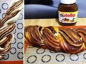Tresse briochée Nutella