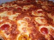 Quiche sucrée-salée tomates courge butternut pommes mozzarella