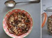 Muesli Granola maison faites céréales vous-même