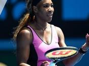 Serena déjà dehors!