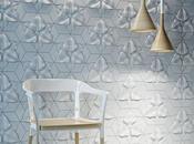Doux Organic Design: Tuiles béton avec motif floral