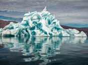 photos d'icebergs sculptés nature