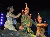 janvier 2014. Udonthani. Spectacle Khon.