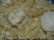 pâtes noix Saint Jacques sauce soja cumin
