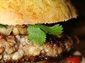 Burger Thaï maison pain Bun's, steak sauce aigre-douce
