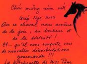 Bonne année Cheval Chúc mừng Giáp 2014