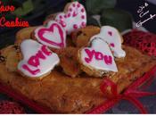 Cookies cerise, chocolat blanc, citron vert, gingembre