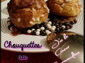 Eclairs violette chouquettes chocolat