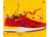 Asics Lyte Fiery Yellow