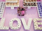 Plateaux Love pour bonbons décoration candy