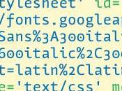 Google WebFonts, espion l'intérieur
