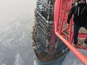 russes escaladent Shanghai tower