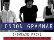 Gagne places pour concert privé London Grammar, février Paris, grâce Virgin Radio