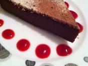 Fondant chocolat légèrement praliné sans gluten, lait