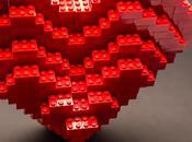 Valentin cœur Lego
