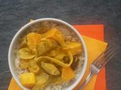 Curry courge d'aubergine