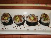 Makis sardines avocat fromage