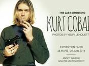 dernière séance photo Kurt Cobain s'expose Paris