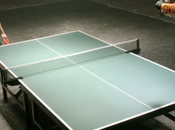 Match Ping Pong entre Timo Boll Robot