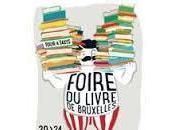 Foire Livre Bruxelles deux rendez-vous jeudi février