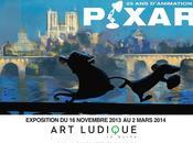 Génial, j'ai aller découvrir merveilles l''expo Pixar Musée d'Art Ludique!!