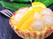 Tartelettes fruits frais l'Orange Curd